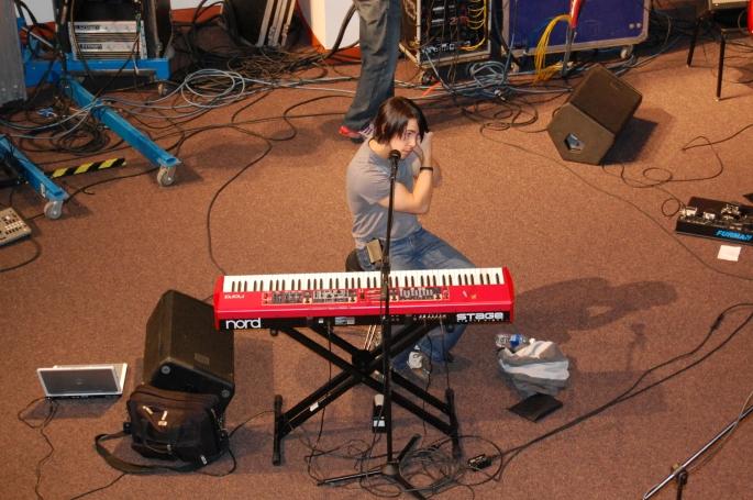 Cloverton's lead singer, Lance