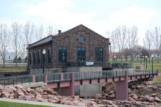 The old power plant